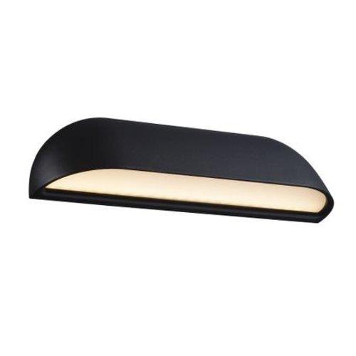 Nordlux LED Wandlamp Buiten Zwart -8Watt LED - IP44 - Front 26