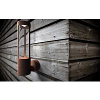 Nordlux Wandlamp Buiten Corten - GU10 Fitting - IP44 - Helix