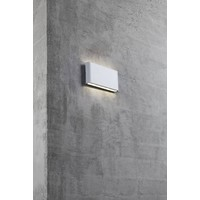 Nordlux LED Wandlamp Buiten Wit - IP44 - 6Watt LED - Kinver