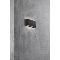 Nordlux LED Wandlamp Buiten Zwart - IP44 - 6Watt LED - Kinver