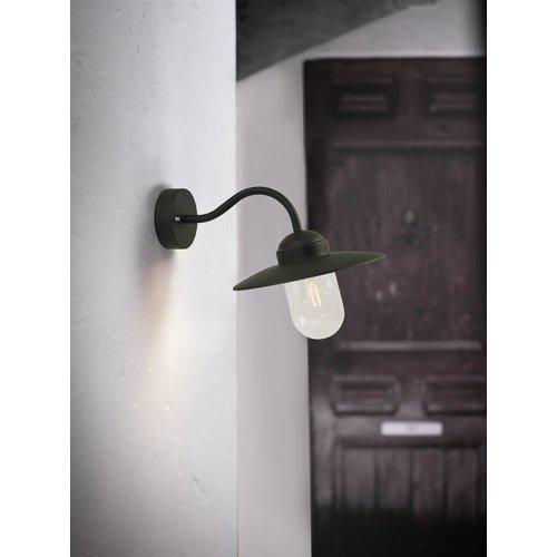 Nordlux Wandlamp Buiten Zwart - E27 Fitting - IP54 - Luxembourg