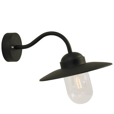 Wandlamp Buiten Zwart - E27 Fitting - IP54 - Luxembourg