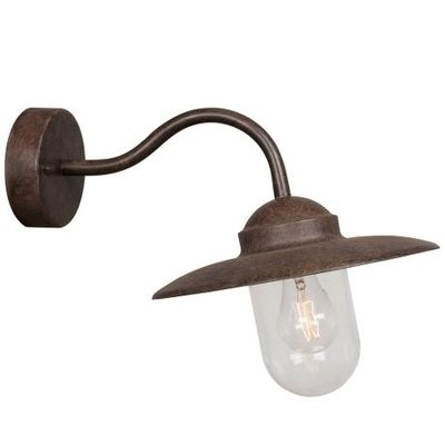 Wandlamp Buiten Roest - E27 Fitting - IP54 - Luxembourg