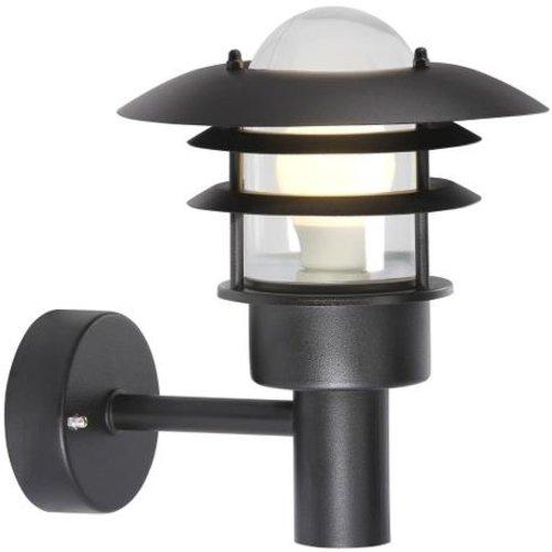 Nordlux Wandlamp Buiten Zwart - E27 Fitting - IP44 - Lønstrup 22