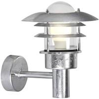 Nordlux Wandlamp Buiten Gegalvaniseerd - E27 Fitting - IP44 - Lønstrup 22