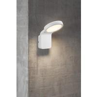 Nordlux LED Wandlamp Buiten Wit - 10W LED IP44 - Marina Flatline