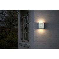 Nordlux LED Wandlamp Buiten Wit - 10Watt IP44 -Maze Straight