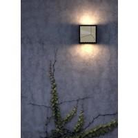 Nordlux LED Wandlamp Buiten Zwart - 10Watt LED IP44 -Maze Straight