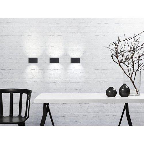 Nordlux LED Wandlamp Buiten Zwart - 6W LED  IP54 -Nene