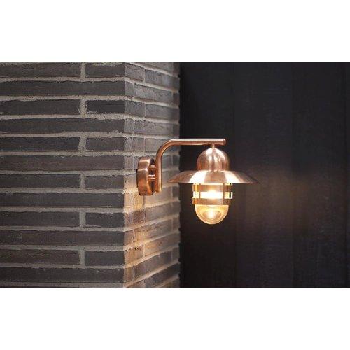 Nordlux Wandlamp Buiten Koper - E27 Fitting  IP54 -Nibe
