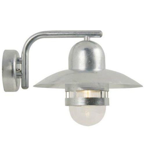 Nordlux Wandlamp Buiten Gegalvaniseerd - E27 Fitting  IP54 -Nibe