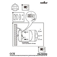 Nordlux Wandlamp Buiten Messing - E27Fitting IP64 - Polperro