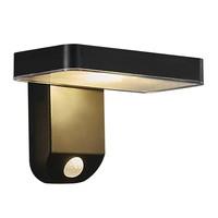 Nordlux LED Wandlamp Buiten Zwart Solar - 5W LED - Rica Square
