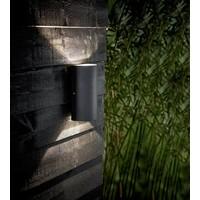 Nordlux LED Wandlamp Buiten Tweezijdig Zwart - 2x5W LED - Rold