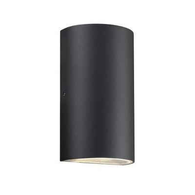LED Wandlamp Buiten Tweezijdig Zwart - 2x5W LED - Rold