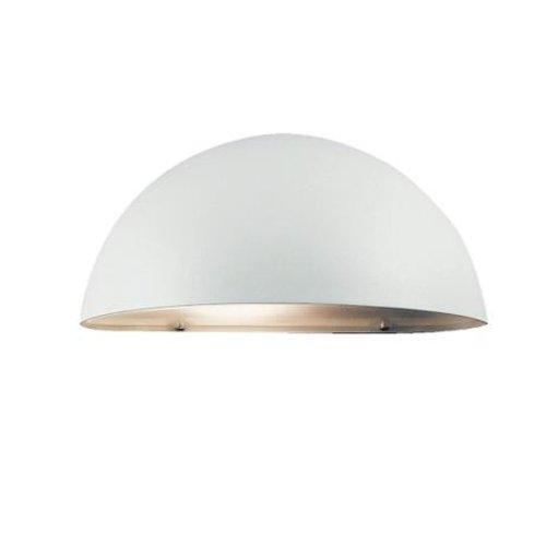 Nordlux Wandlamp Buiten Wit - E14 Fitting  IP23 - Scorpius