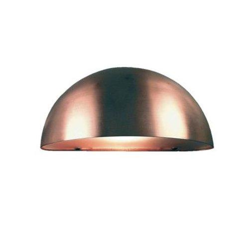 Nordlux Wandlamp Buiten Koper - E14 Fitting  IP23 - Scorpius