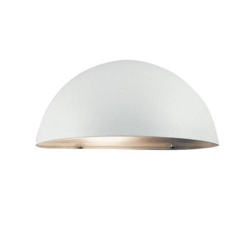 Nordlux Wandlamp Buiten Wit - E27 Fitting - IP23 - Scorpius Maxi
