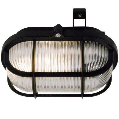 Wandlamp Buiten Zwart - E27 Fitting - IP44 - Skot