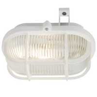 Nordlux Wandlamp Buiten Wit - E27 Fitting  IP44 - Skot