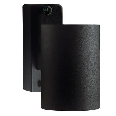 Wandlamp Buiten Zwart - GU10 Fitting - IP54 - Tin
