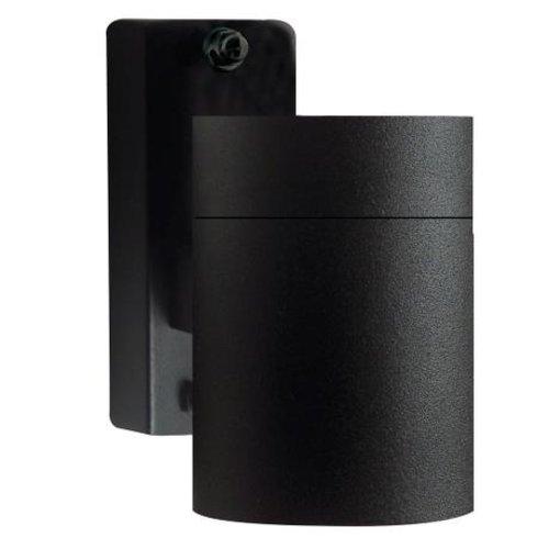 Nordlux Wandlamp Buiten Zwart - GU10 Fitting - IP54 - Tin