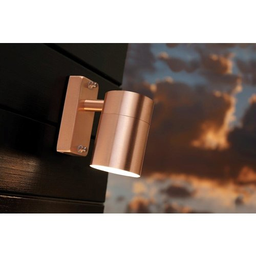 Nordlux Wandlamp Buiten Koper - GU10 Fitting IP54 - Tin