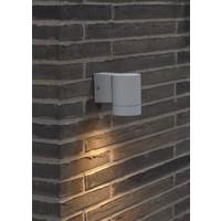 Nordlux Wandlamp Buiten Wit - GU10 Fitting - IP54 - Tin Maxi