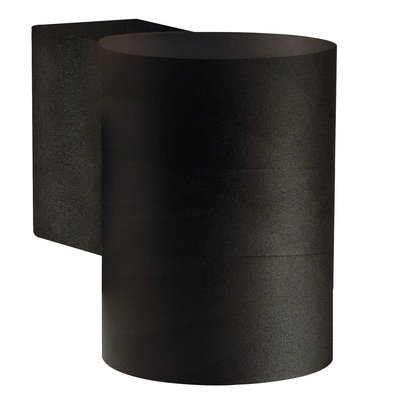 Wandlamp Buiten Zwart - GU10 Fitting - IP54 - Tin Maxi