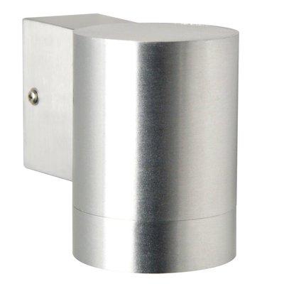Wandlamp Buiten Aluminium - GU10 Fitting - IP54 - Tin Maxi