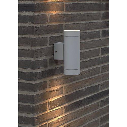 Nordlux Wandlamp Buiten Tweezijdig Wit - GU10 Fitting - IP54 - Tin Maxi