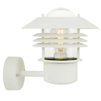 Wandlamp Buiten Wit - E27 Fitting - IP54 - Vejers