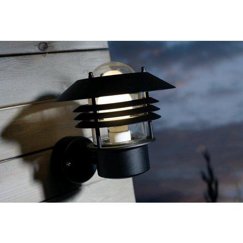 Nordlux Wandlamp Buiten Zwart - E27 Fitting - IP54 - Vejers