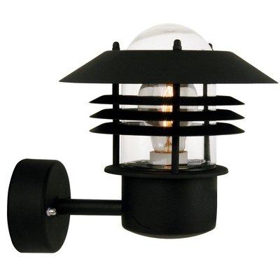 Wandlamp Buiten Zwart - E27 Fitting - IP54 - Vejers