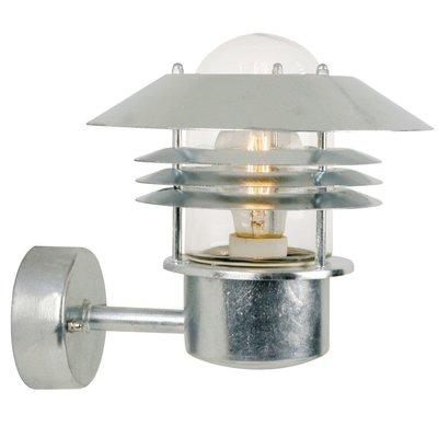 Wandlamp Buiten Gegalvaniseerd - E27 Fitting - IP54 - Vejers