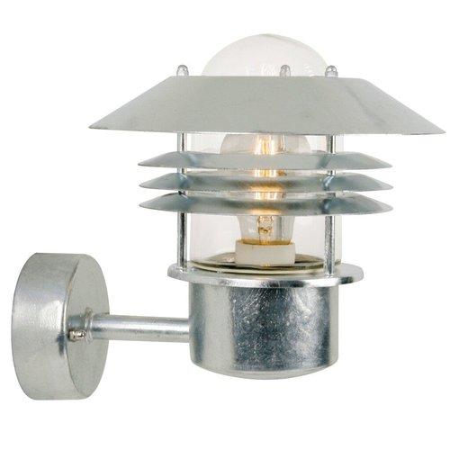 Nordlux Wandlamp Buiten Verzinkt - E27 Fitting - IP54 - VejersWandlamp Buiten Gegalvaniseerd - E27 Fitting IP54 - Vejers