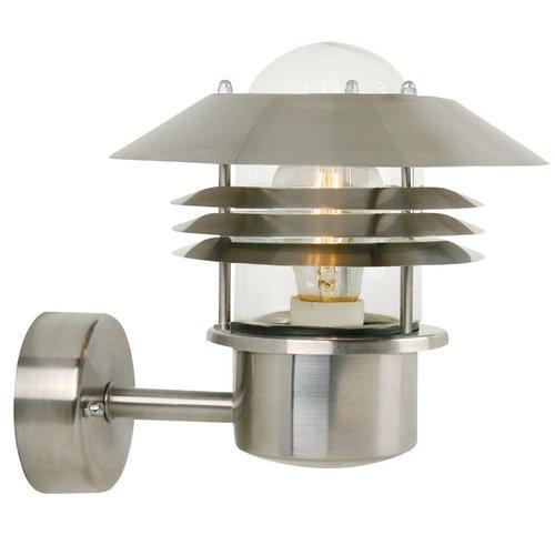 Nordlux Wandlamp Buiten Roestvrijstaal - E27 Fitting IP54 - Vejers