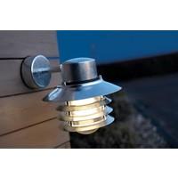 Nordlux Wandlamp Buiten Gegalvaniseerd - E27 Fitting - IP54 - Vejers Down