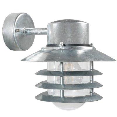 Wandlamp Buiten Gegalvaniseerd - E27 Fitting - IP54 - Vejers Down