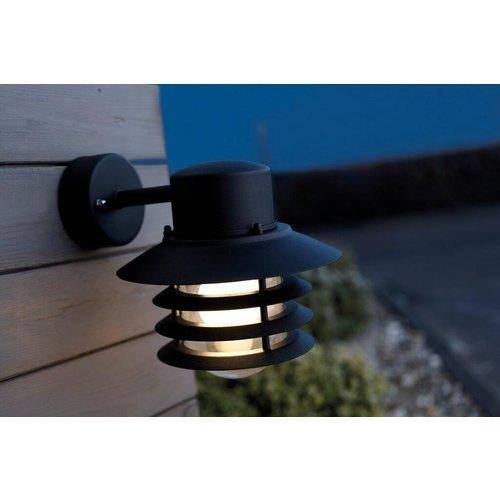 Nordlux Wandlamp Buiten Zwart - E27 Fitting - IP54 - Vejers Down