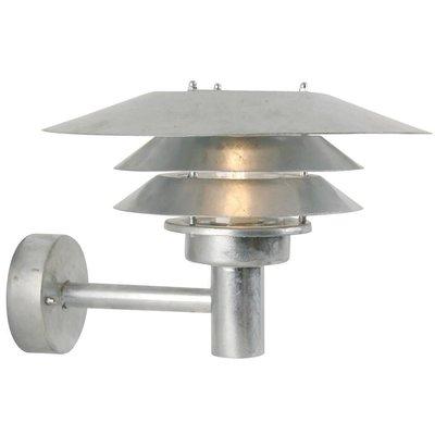 Wandlamp Buiten Gegalvaniseerd - E27 Fitting - IP54 - Venø