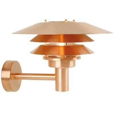 Wandlamp Buiten Koper - E27 Fitting-  IP54 - Venø