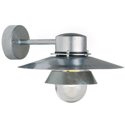 Wandlamp Buiten Gegalvaniseerd - E27 Fitting - IP54 - Virum