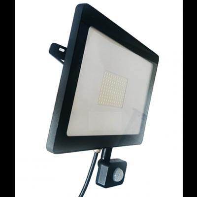 LED Breedstraler met Sensor 100W - 8.000 Lumen - 4000K