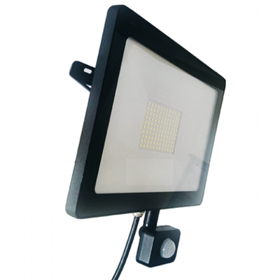 LED Breedstraler met Sensor 10W - 800 Lumen - 6500K