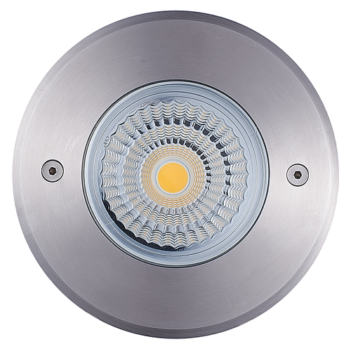 Lightexpert Grondspot Buiten LED - RVS - Lucie - 12W  - 4000K