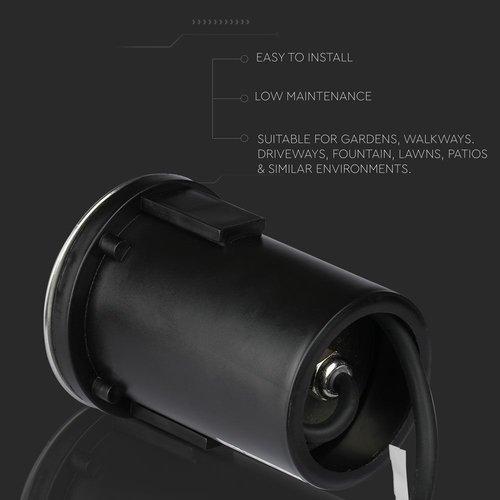Lightexpert RVS Grondspot 12V - MR16 - IP67 - 4 Lichts