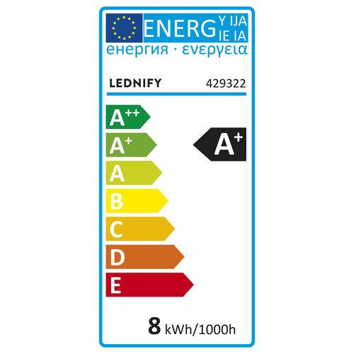 Lednify LEDNIFY WiZ Connected Smart LED Standard - E27 - 8W - 806LM - 2700-6500K