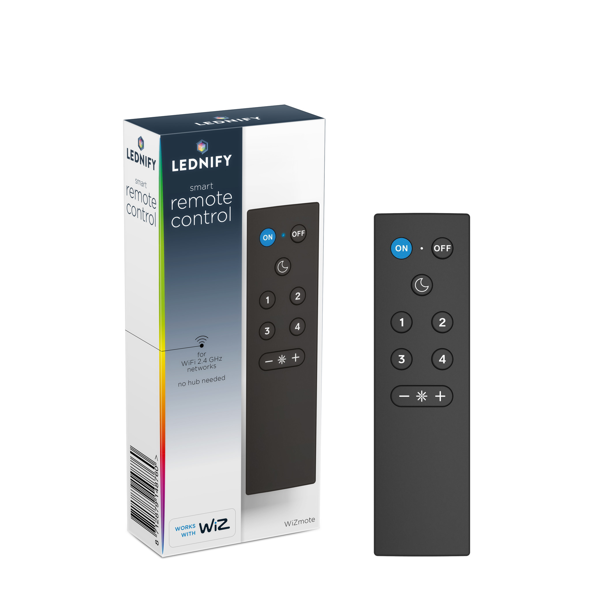 LEDNIFY WiZ Connected Smart Remote Control