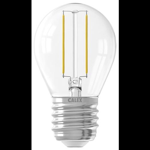 Calex 15 Pack - Calex Spherical LED Lamp Filament - E27 - 200 Lm - Zilver